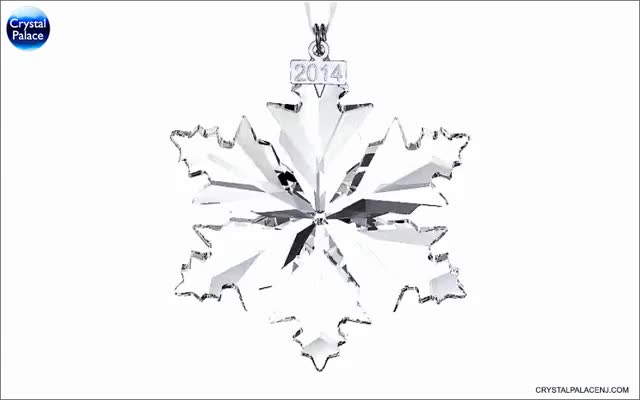 Watch and share Swarovski Crystal Christmas Ornament, Annual Edition 2014 GIFs on Gfycat