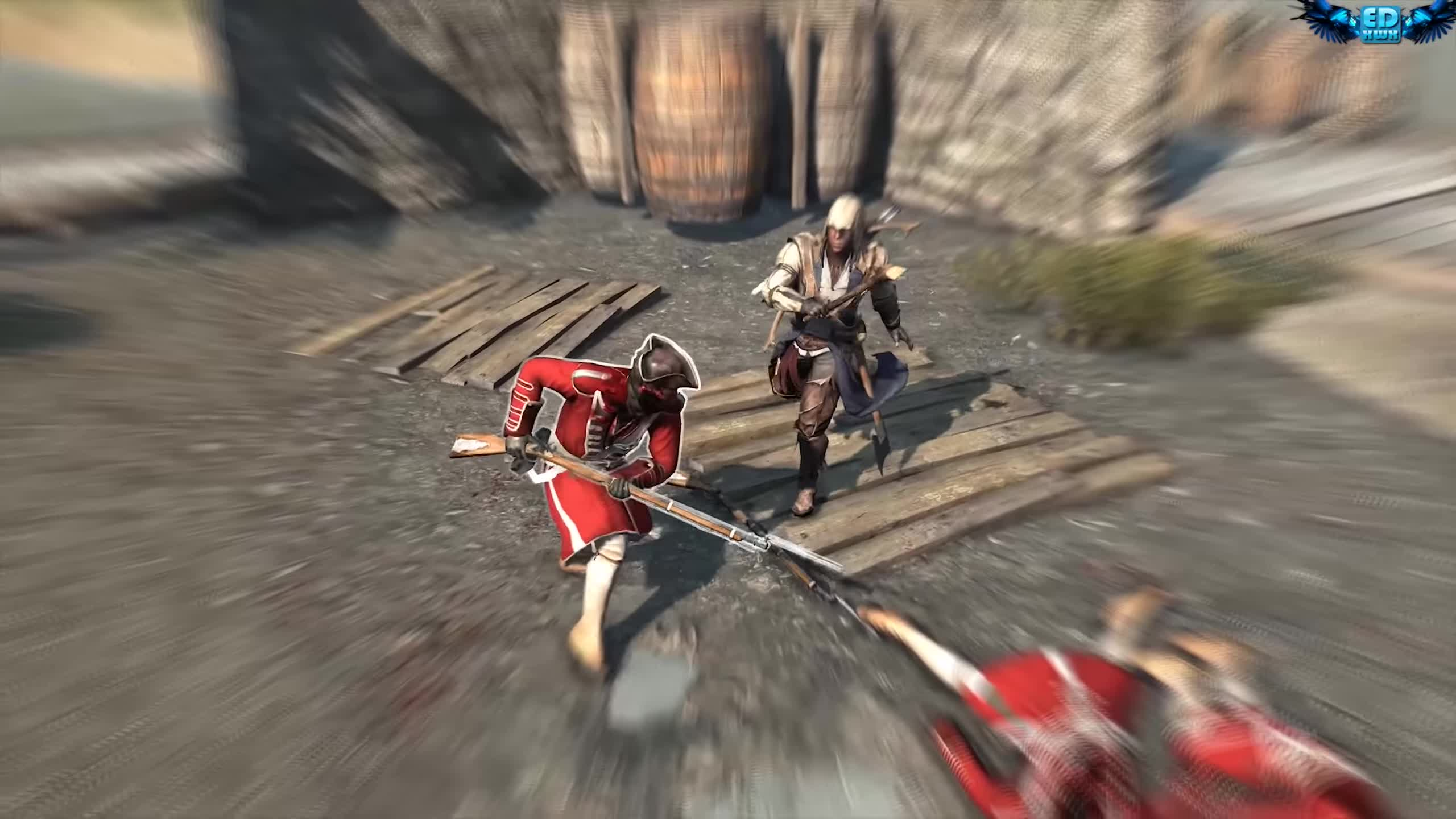 american revolution, assassin's creed 3, assassin-templar, british military, cinematic, connor, desmond miles, gameplay, historical action-adventure, multiplayer, open world, ps3, stealth, trailer, ubisoft, ubisoft montreal, video game, walkthrough, wii u, xbox360, Assassin's Creed 3 Master Connor Free Roam & Combat Ultra Settings GIFs