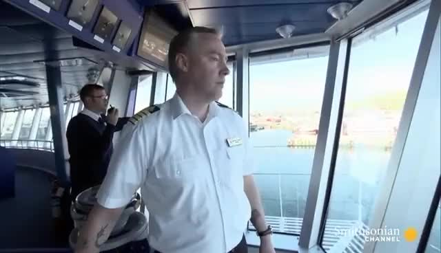 Watch and share How Do You Dock A Ship Into A Port That's 200 Feet Short? GIFs on Gfycat