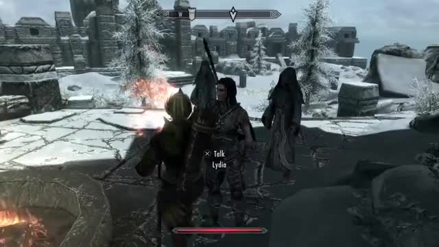 Watch and share Gaming GIFs and Skyrim GIFs on Gfycat