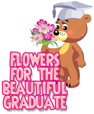 Watch Flowers for the beautiful graduate girl GIF on Gfycat. Discover more related GIFs on Gfycat