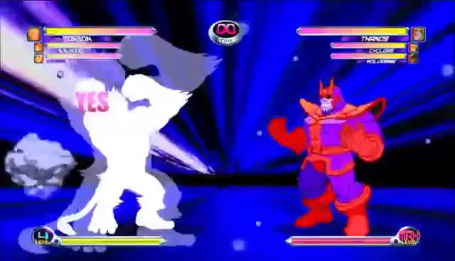 Watch and share Marvel Vs. Capcom 2 - All Character Hyper Combos { Capcom Side } GIFs on Gfycat