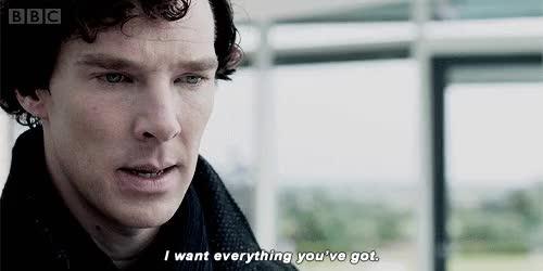 Watch and share Sherlock Holmes GIFs on Gfycat