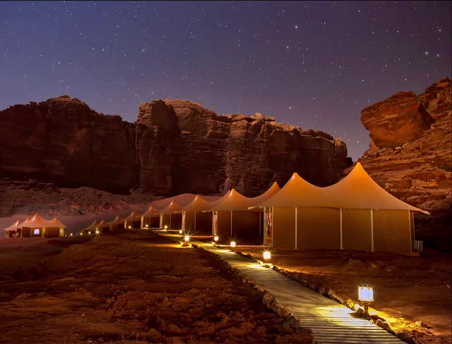 Watch and share HP Memories Aicha Luxury Camp-Night 1 GIFs by iconiclife on Gfycat