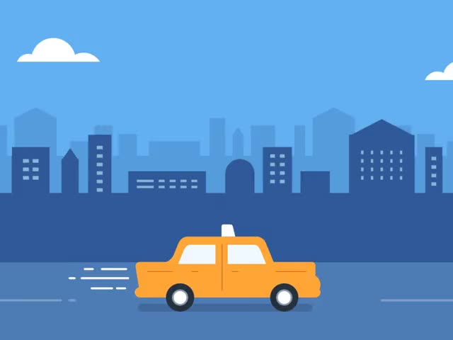 Watch and share Taxi-drive-animation GIFs on Gfycat
