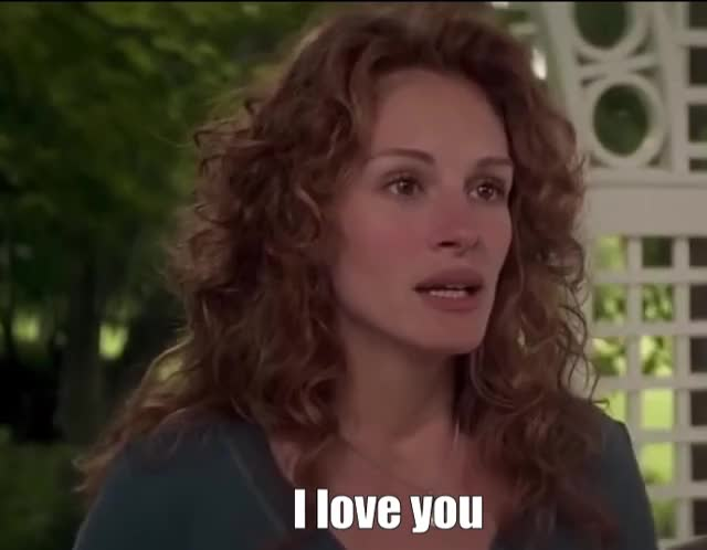 Watch this julia roberts GIF by The GIF Forge (@leahstark) on Gfycat. Discover more i love you, love GIFs on Gfycat