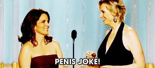 Watch and share Tina Fey GIFs and Penis GIFs by Reactions on Gfycat