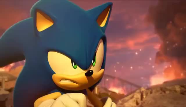 Watch and share Sonic Forces - E3 Trailer GIFs on Gfycat