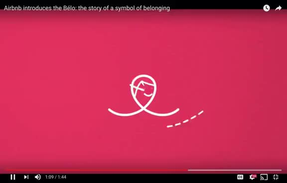 Watch and share Airbnb Logo GIFs on Gfycat