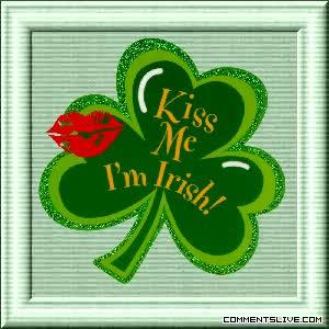 Watch and share Kiss Me Im Irish GIFs on Gfycat