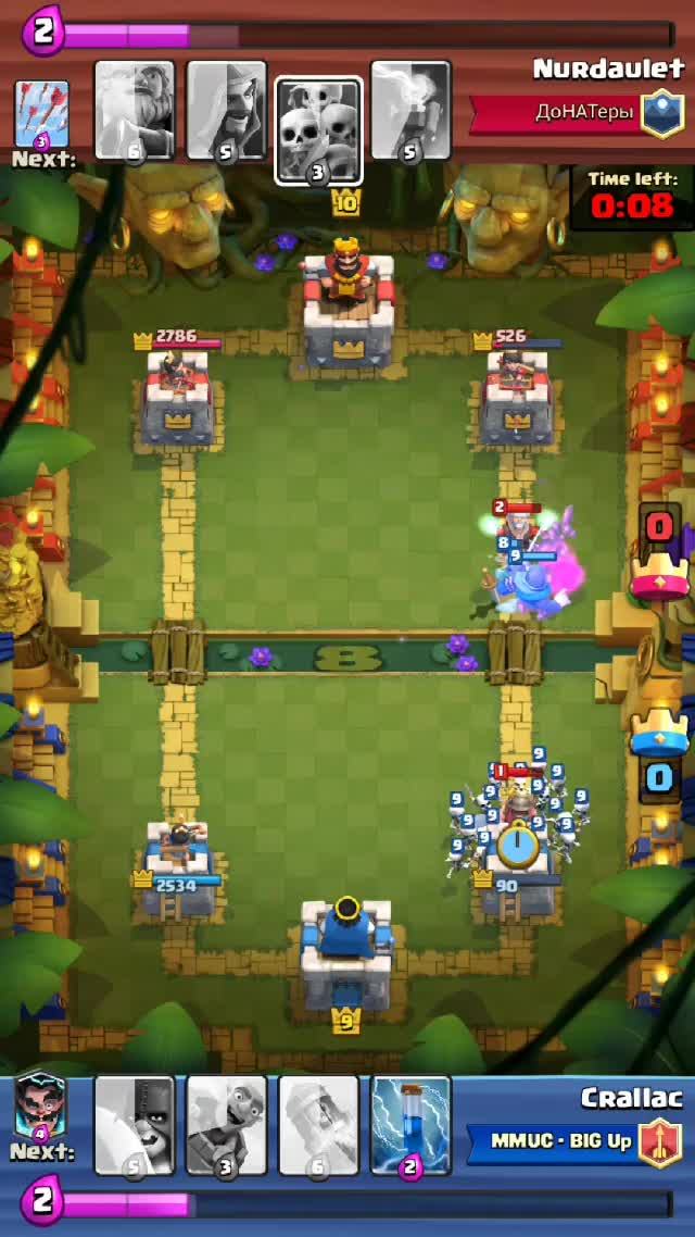 Watch Clash Royale very close finish. GIF by @crallac on Gfycat. Discover more ClashRoyale GIFs on Gfycat
