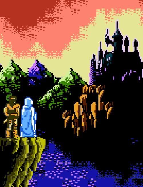 Watch Dracula's castle from Castlevania III: Dracula's Curse, by K GIF on Gfycat. Discover more 1990, buildings, castlevania, castlevania iii dracula's curse, konami, nes GIFs on Gfycat