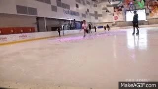Watch Ice-skating fail GIF on Gfycat. Discover more related GIFs on Gfycat