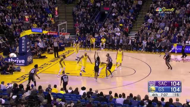 Watch this basketball GIF by @dkurtenbach on Gfycat. Discover more basketball, golden state warriors, kings, sacramento kings, warriors GIFs on Gfycat