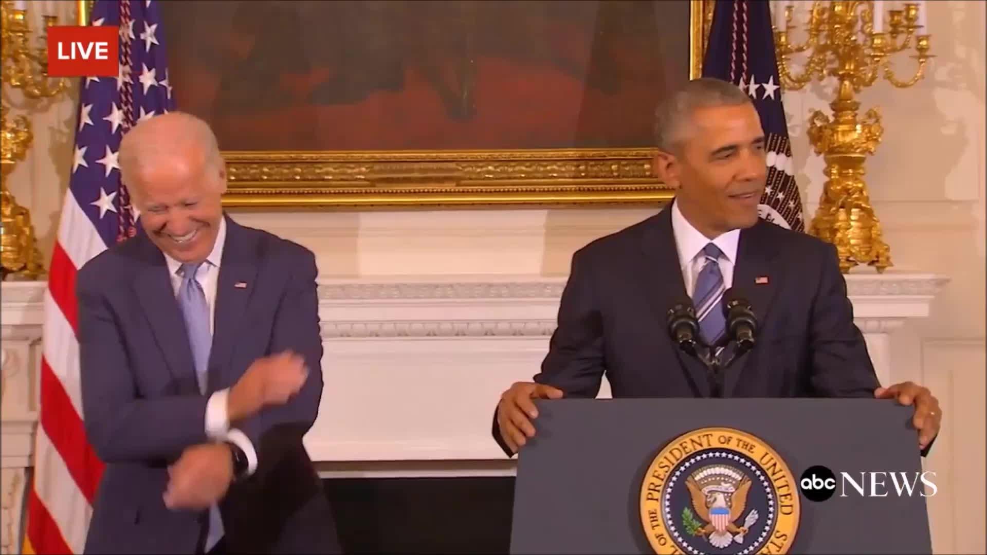 Barack Obama, JoeBiden, unclejoe, vicepresident, Joe Biden 2017 GIFs