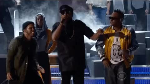Watch and share Grammys, The Grammys, 2017 Grammys, A Tribe Called Quest, Anderson .paak GIFs on Gfycat