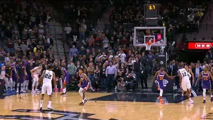Watch and share Rudy Gay — San Antonio Spurs GIFs by Off-Hand on Gfycat