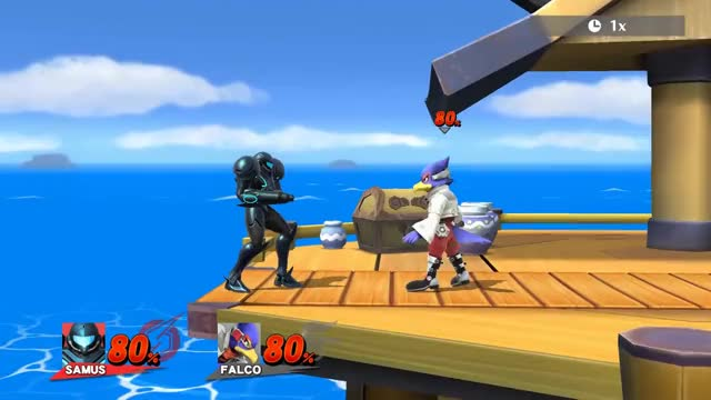 Smash 4 Wii U - Instant Tether Trumping