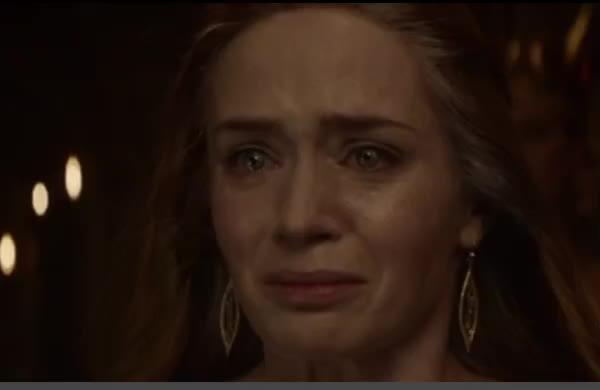 Freya, crying, screaming, The Huntsman: Winter's War GIFs
