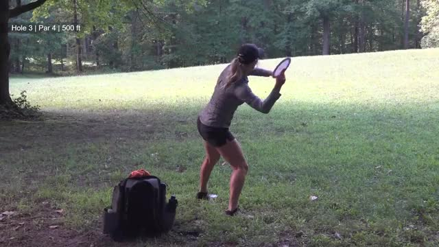 Watch 2018 Delaware Challenge • Final • Catrina Allen hole 3 approach GIF by Benn Wineka UWDG (@bennwineka) on Gfycat. Discover more Association, Disc, Disc Golf, Golf, PDGA, Professional, Sports, The Disc Golf Guy, Video Blog, thediscgolfguy GIFs on Gfycat
