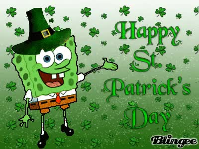 Watch and share St Patricks Day GIFs and Spongebob GIFs on Gfycat