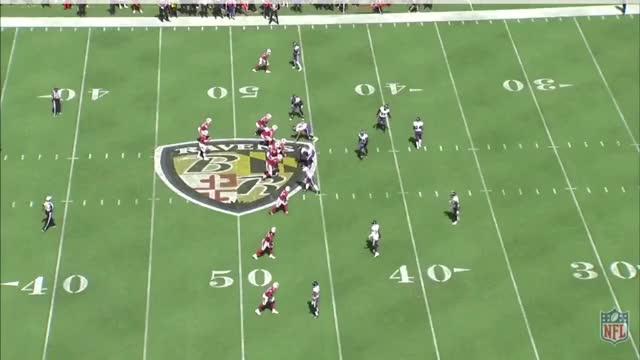 Watch and share Kirk 34 Yard Catch GIFs by jkurzer on Gfycat