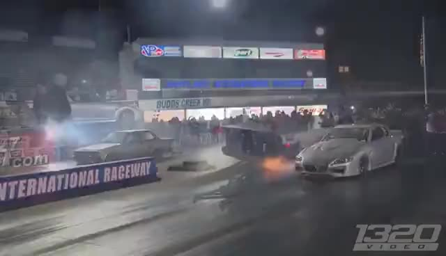Watch and share TRIPLE Turbo 1600hp Mazda RX-8 GIFs on Gfycat
