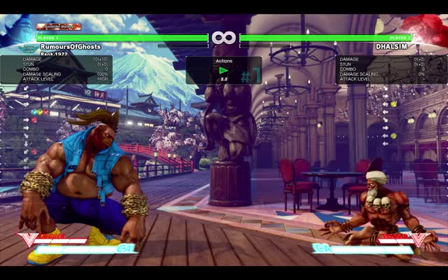 Watch Dhalsim - Whiff Punish (Corner) GIF by RumoursOfGhosts (@rumoursofghosts) on Gfycat. Discover more related GIFs on Gfycat
