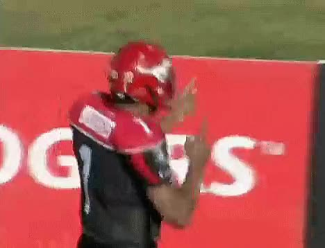Watch this trending GIF by Archley (@archley) on Gfycat. Discover more 2008, CFL, Calgary Stampeders, Celebration, Football, Henry Burris, McMahon Stadium GIFs on Gfycat