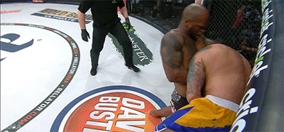 bellator, bjj, choke, grappling, guillotine, martial arts, mixed martial arts, mma, raphael butler, spike tv, submission, the silencer, mma-gifs GIFs