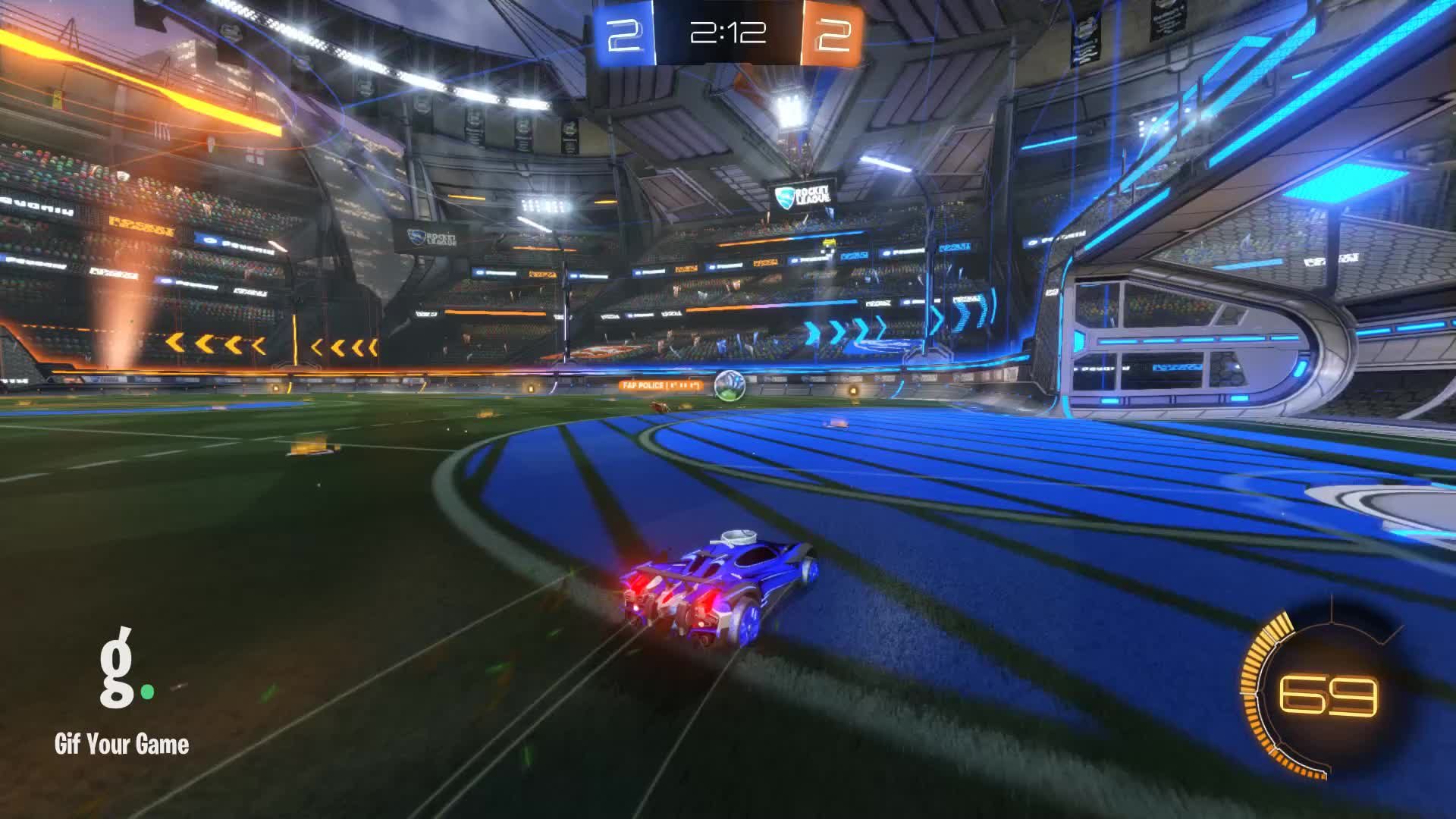 Gif Your Game, GifYourGame, Goal, Rocket League, RocketLeague, Spidey Webs, Goal 5: Spidey Webs GIFs