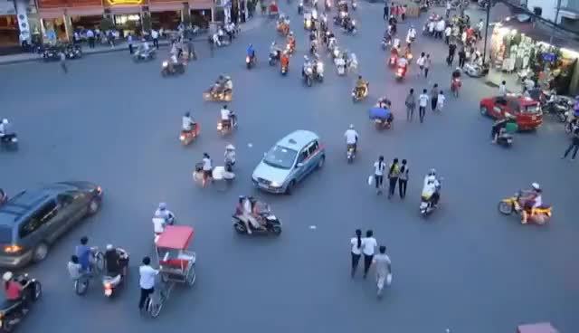 Watch and share THE MOST INSANE TRAFFIC EVER IN HANOI, VIETNAM! GIFs on Gfycat