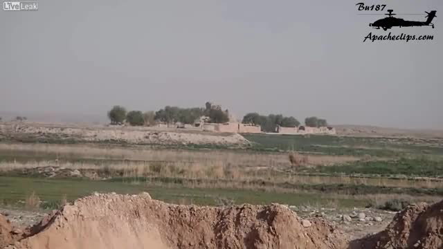 Rebel Gets Killed After SAA T-72 Blasts His Position GIF