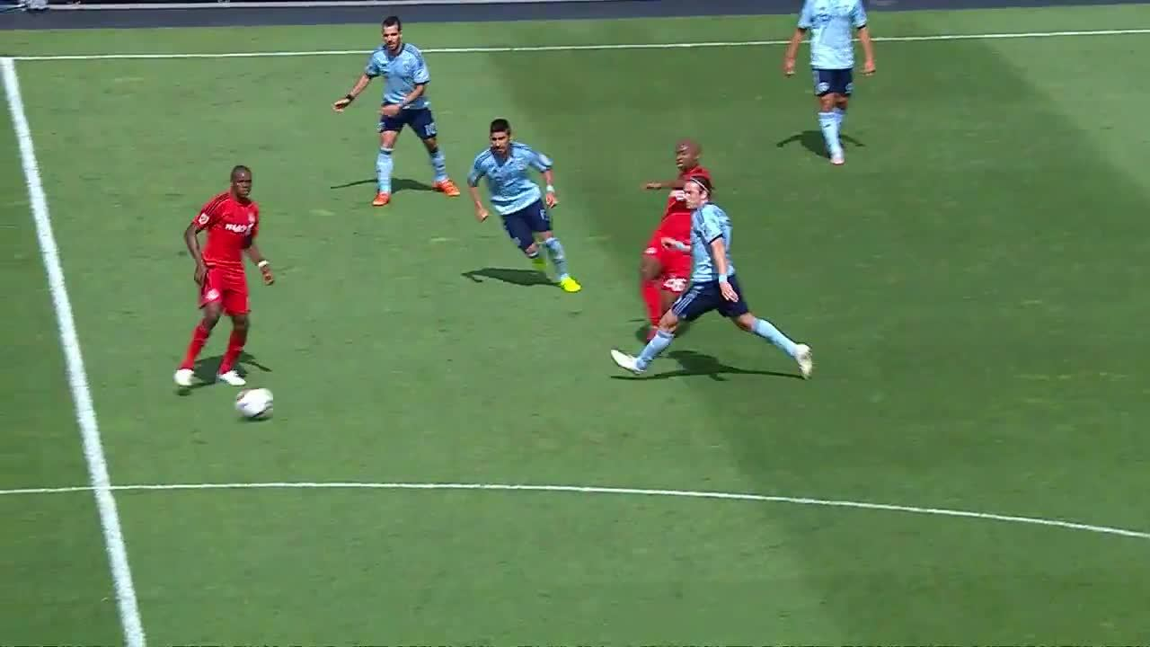 Michael Bradley Goal v. Kansas City GIFs