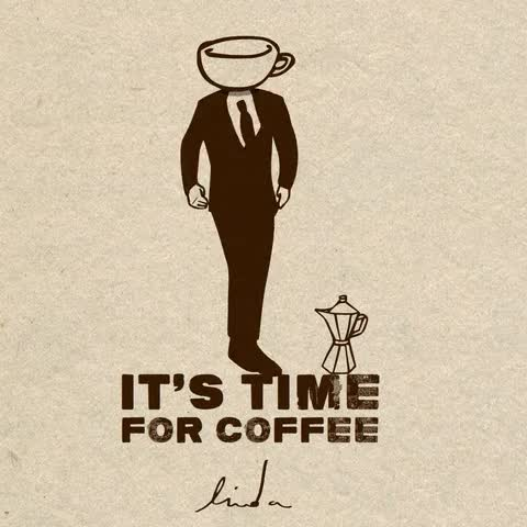 Watch and share Coffee GIFs and Time GIFs on Gfycat