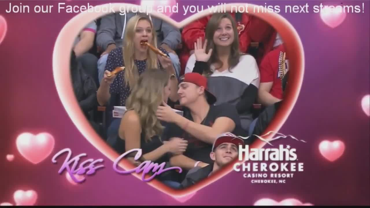 foreveralone, funny, sports, Pizza Girl on the Kisscam GIFs