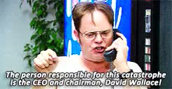 Watch and share Dwight Schrute GIFs and Nellie Bertram GIFs on Gfycat