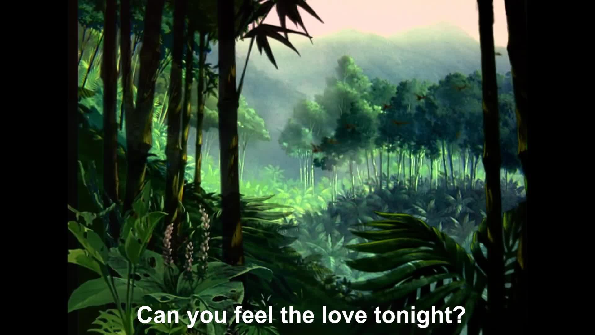 Can You Feel The Love Tonight Gif Gfycat