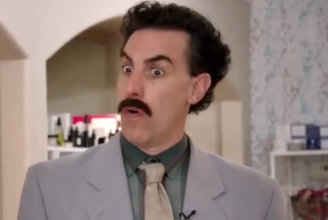 Watch and share Borat Is Impressed GIFs by Super GIF on Gfycat