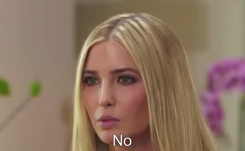 disagree, i disagree, no, Ivanka Trump: No GIFs