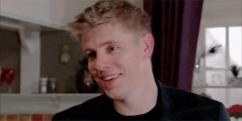 Watch and share Robert Sugden Aaron Dingle Gif GIFs on Gfycat