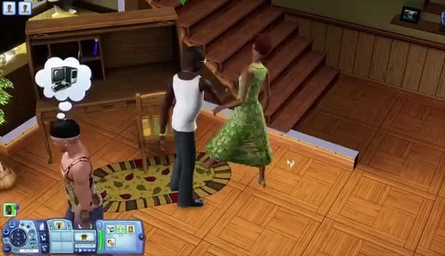 The Sims 3, videogamedunkey, Da Sims fatality GIFs