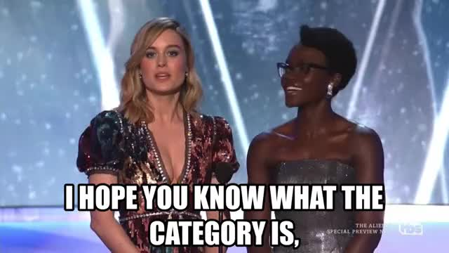 Watch and share Brie Larson GIFs and Sag Awards GIFs by Reactions on Gfycat