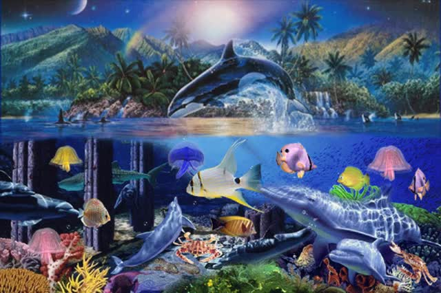 Watch and share Fantasy Seaworld GIFs on Gfycat