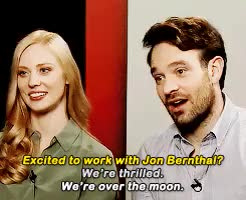 Watch and share Daredevil Spoilers GIFs and Deborah Ann Woll GIFs on Gfycat