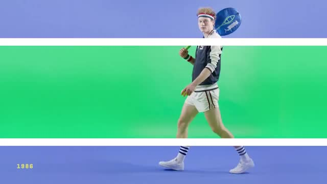 Watch this trending GIF on Gfycat. Discover more Lifestyle, fashion, puma, style, tennis, wimbledon GIFs on Gfycat