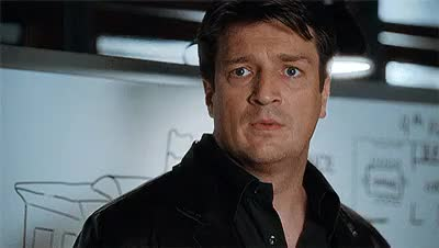 Watch and share Nathan Fillion GIFs and Kate Beckett GIFs on Gfycat
