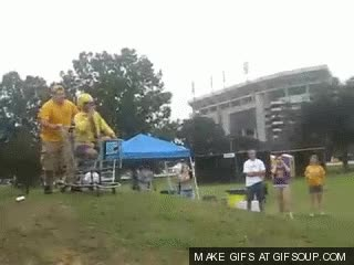 Watch epic tailgate fails shopping cart danger GIF on Gfycat. Discover more related GIFs on Gfycat