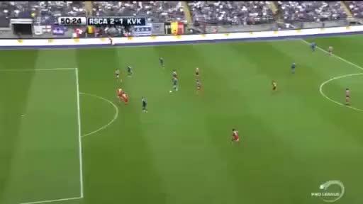 Watch 2-1 Lukasz Teodorczyk Goal - Anderlecht 2-1 Kortrijk - 07-08-2016 GIF on Gfycat. Discover more related GIFs on Gfycat