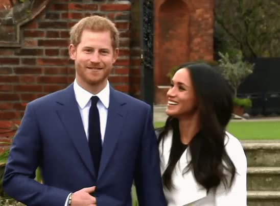 Watch and share Meghan Markle GIFs and Prince Harry GIFs by Reactions on Gfycat